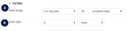 Attribution Dashboard - Filters