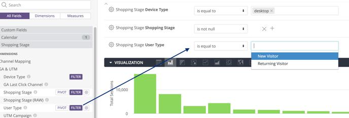 Exploring Data Basics - user type filter