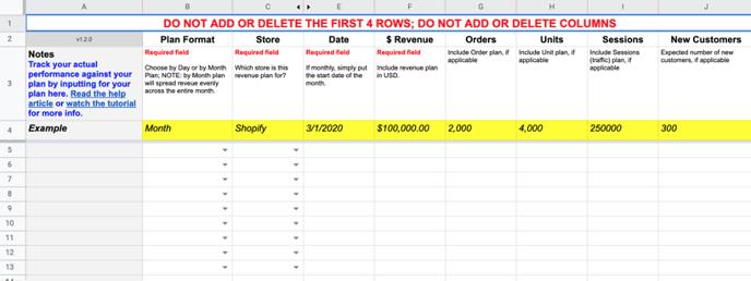 Brand Supplied Data Revenue Plan