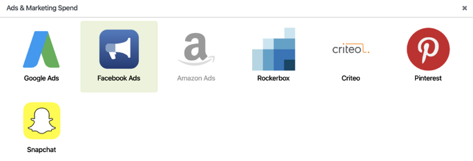Facebook Ads Setup - Marketing Spend