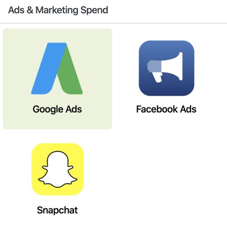 Google Ads Setup - Marketing Spend