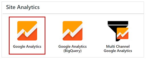 Google Analytics Setup - GA
