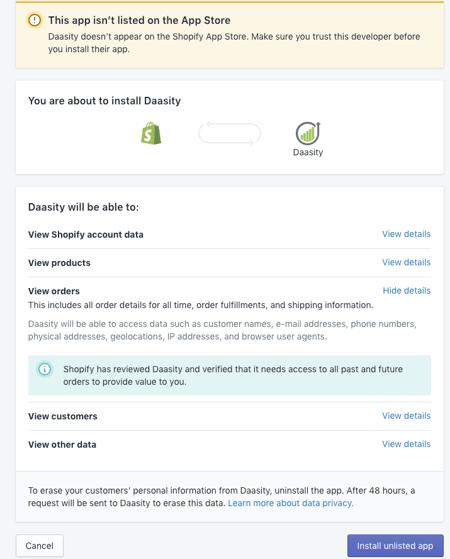 Shopify Plus Setup - Access